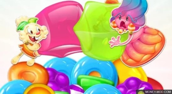 Candy Crush Jelly Saga (Mod)