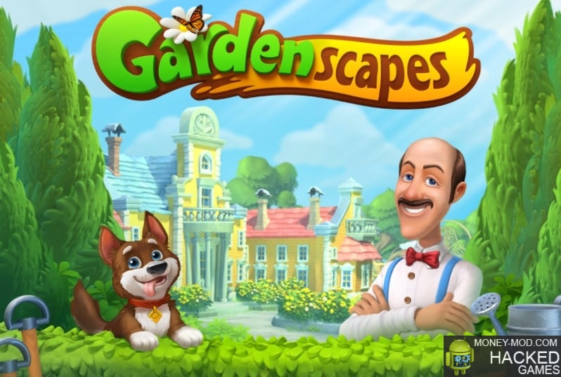 Gardenscapes - New Acres (Unlimited Mod)