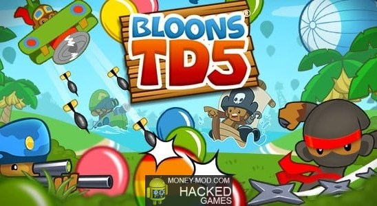 Hacked Bloons TD 5 (Mod)