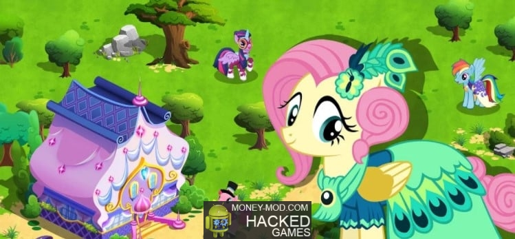 Hacked MY LITTLE PONY (Coins, Gems)