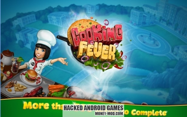 Hacked Cooking Fever Mod
