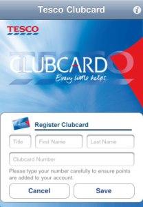 Tesco Clubcard App 2