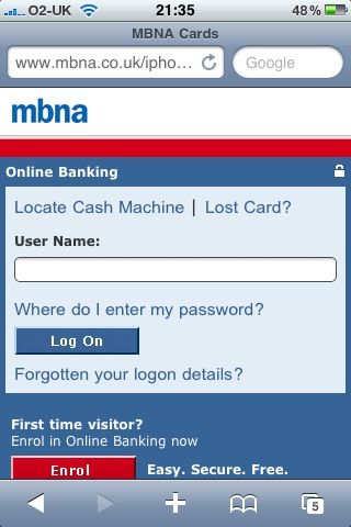 Mbna launches text service money watch reheart Image collections