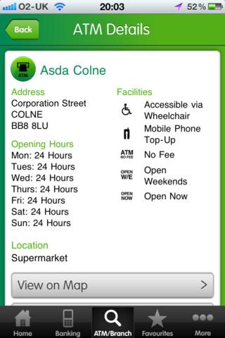 Lloyds TSB iPhone app