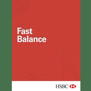 HSBC Fast Balance Blackberry App