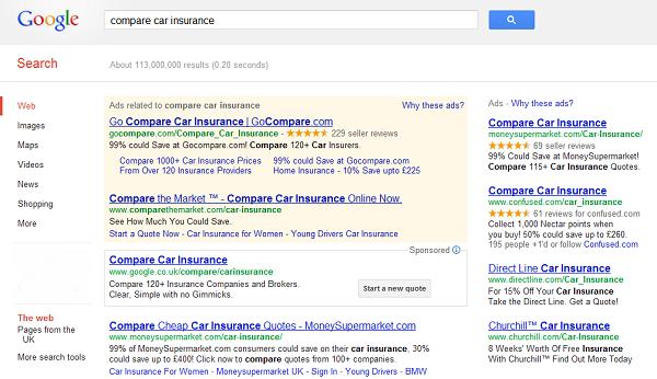 Google Launches Car Insurance Comparison Tool Money Watch