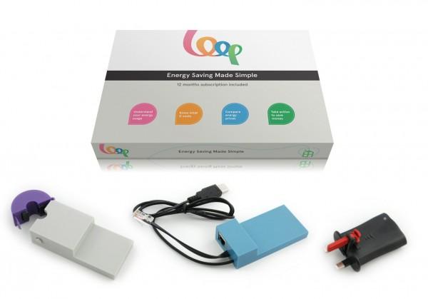Loop energy monitor