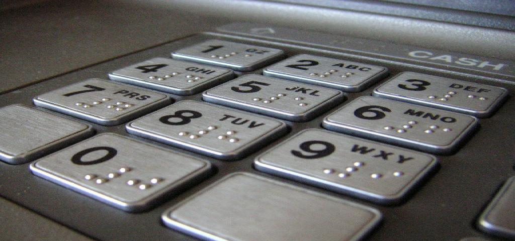 ATM keypad 1/4