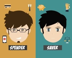 spender and saver