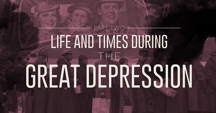 infographic life and times during the great depression life and times during the great depression