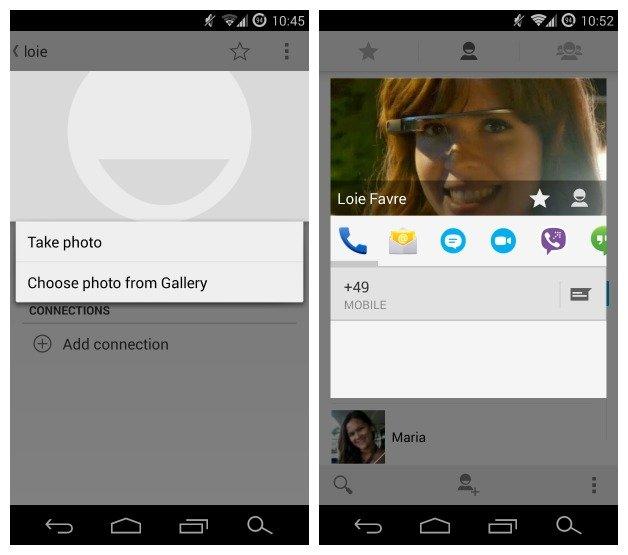 Как настроить собственный список контактов на Android