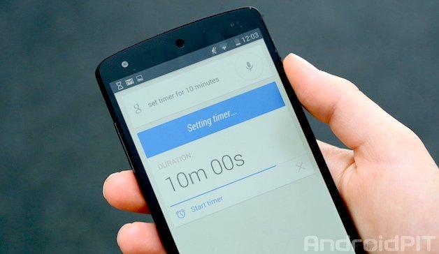 Как установить таймер громкой связи с помощью Google Now на Android