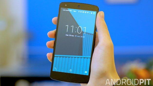 Как настроить Nexus 5 на Android Lollipop в первый раз