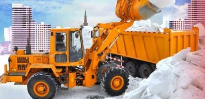 Бизнес-идея: уборка снега