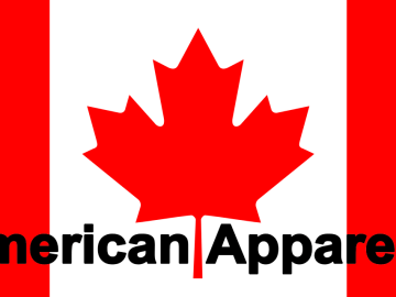 American Apparel is a Canadian company