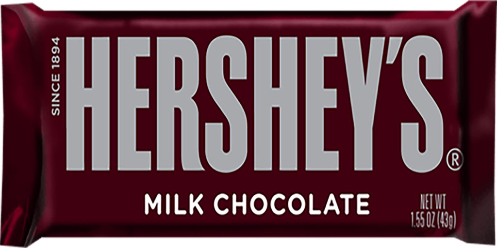 Hershey Milk Chocolate candy bar