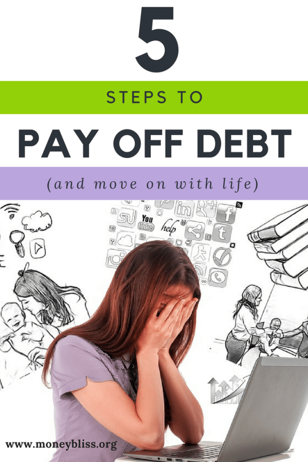 Five Steps to Pay Off Debt (and move on with life)
