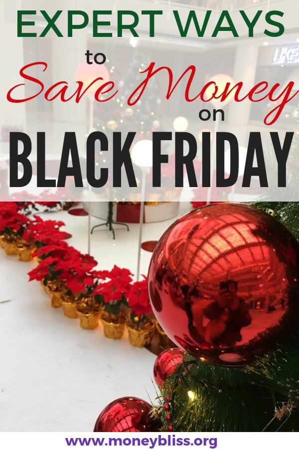 Five Expert Ways to Save Money on Black Friday