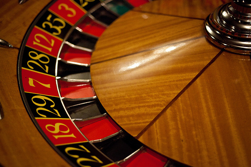 FX trade gamble
