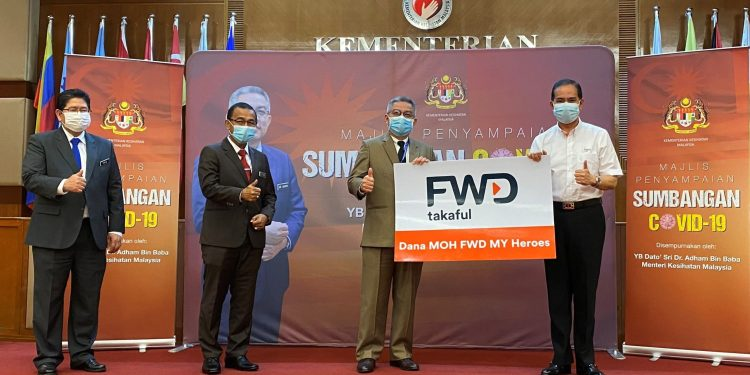 FWD Takaful recognises Malaysian frontliners with RM5million special fund