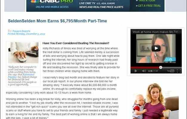 Single Mom Earns $7397 Per Month From Home!