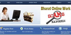 Scam of Bharat Online Work – Review of BharatOnlineWork.com