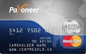 Payoneer Master Card