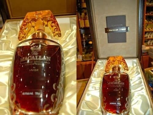 Macallan 55 Year Old with Lalique Crystal Decanter