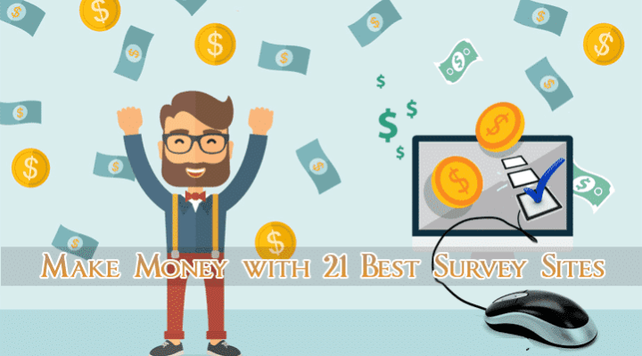 Get Paid to Take Online Surveys for Money with 21 Best Sites in USA