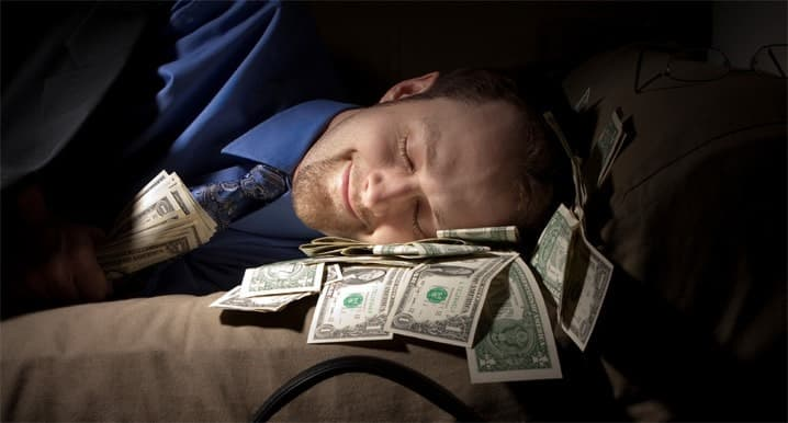 free money sleeping