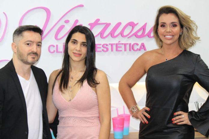 Marcos Candido, Dra Bianca Zaccaro e Renata Banhara - Foto: Renato Cipriano / Divulgação