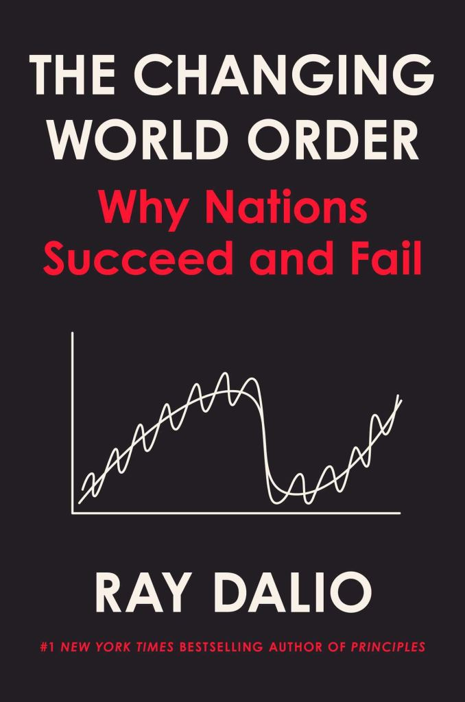 Book Cover: The Changing World Order By Ray Dalio