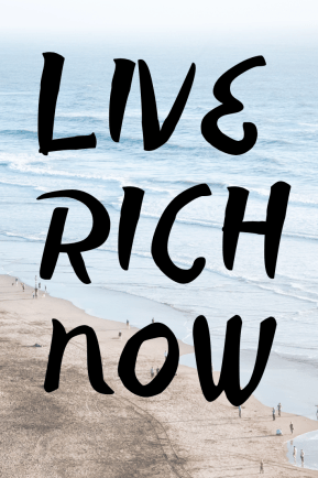 """""""Your dreams are important. They're more than important; they're like oxygen. Without them, your life suffocates. Live rich now"""""""