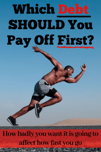 Which debt should you pay off first? I'll say it- I don't agree with the common ways!! Let's compare apples to oranges, and why I think you can meet your goals faster than you currently think!