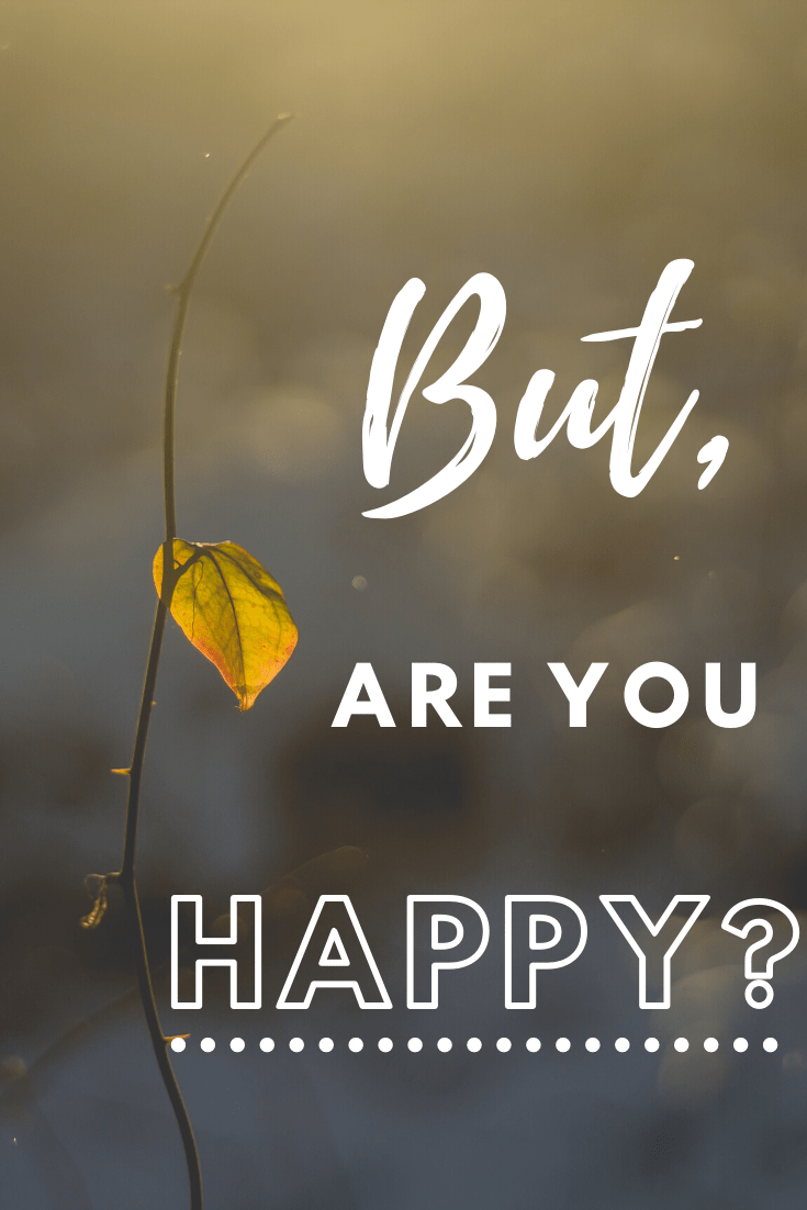 """I'm all for having intense goals, but are you happy? It's important to not leave happiness for """"later"""". My personal reflection of finding balance. #becominghappy #financialindependence #happynow via @moneygremlin"""