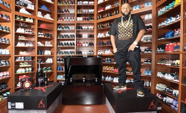 Five Celebrities With Killer Sneaker Collections