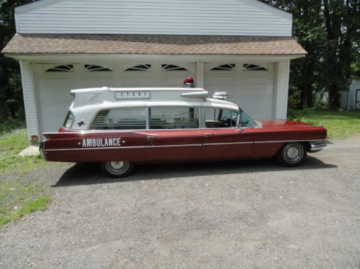 1964 Cadillac Superior ambulance