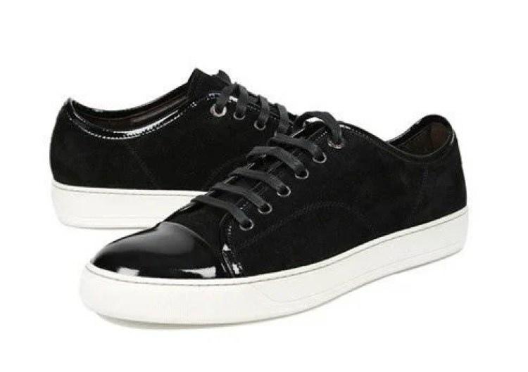 Lanvin Tennis Low Top Black Trainers
