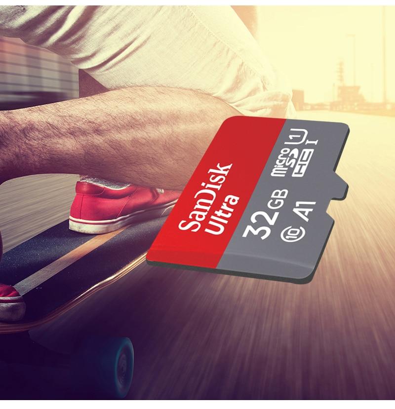 100% Original SanDisk Micro SD Card Ultra Memory Card 16gb 32gb 64gb 128gb