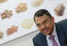 Olam's Co-Founder and Group CEO Sunny Verghese