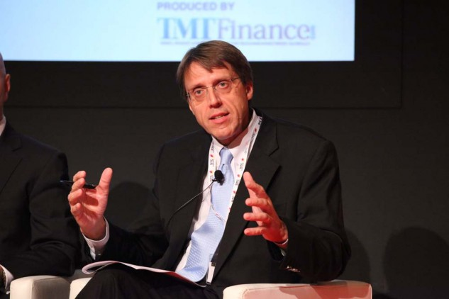 A speaker at TMT Finance held in the Middle East