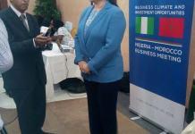 Miriem Bensalah, the President of the Confederation of Moroccan Enterprises (CGEM)
