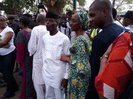 Osinbajo with his wife, Dolapo