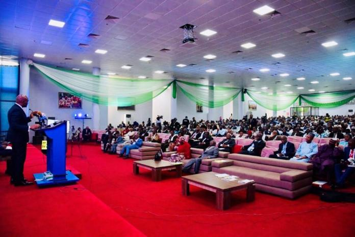 """Mr. Tony O. Elumelu CON, delivers keynote address at the 21st Annual Tax Conference of the Chartered Institute of Taxation of Nigeria (CITN), titled, """"National Development: Unlocking the Potentials of Taxation"""