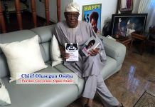 1. Chief Olusegun Osoba