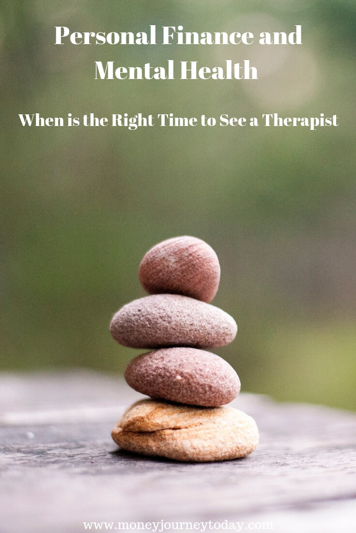 Personal Finance And Mental Health When To See A Therapis