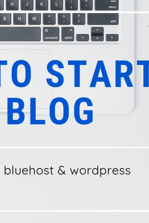 how to start a blog simple