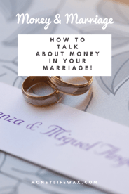 communicating about money with your husband or wife