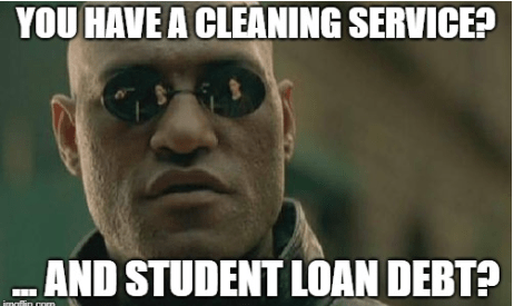 student loan debt free choices