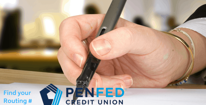 penfed routing number fast